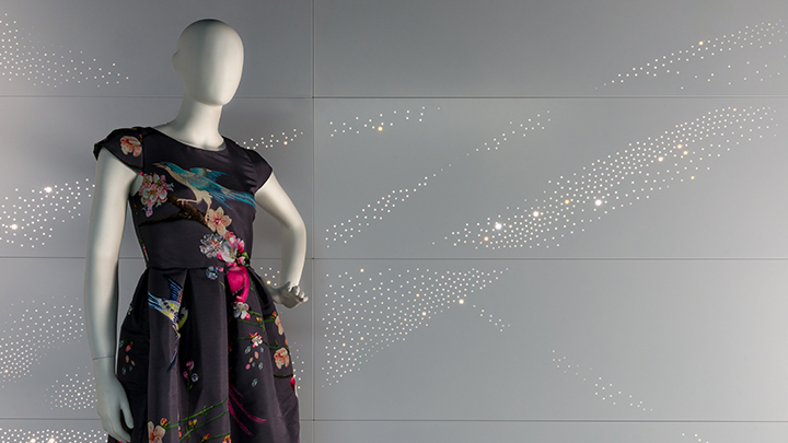 Philips Lighting's Luminous patterns offer many design lighting options including this brilliant graphic light effect