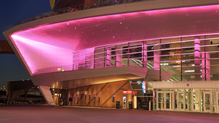 T-Mobile Arena exterior