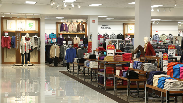 Philips lighting in use at Herberger's