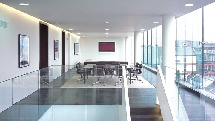 Philips Lightolier Calculite LED Downlights_Boardroom Application