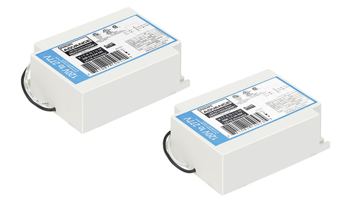 Philips Advance 55W and 42W LED drivers
