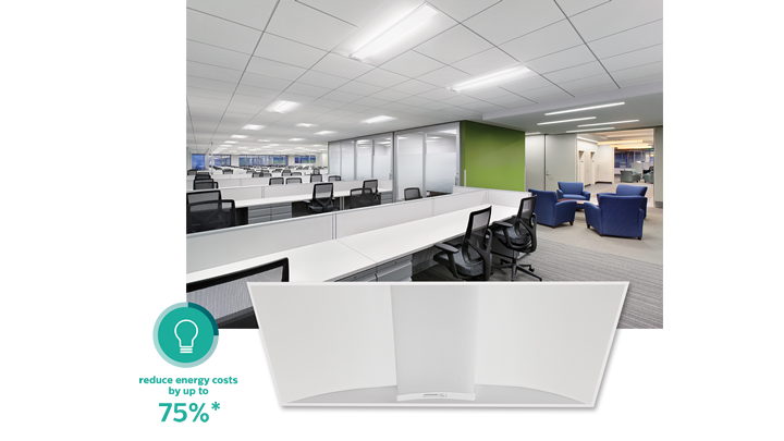 Philips SpaceWise wireless technology - office retrofit