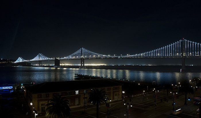 The Bay Lights, San Francisco, California, USA