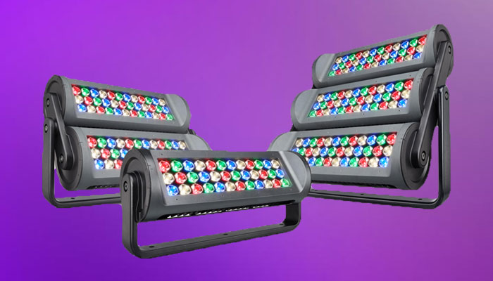 Color changing led lights for façades, monuments, bridges and architectural lighting | Philips Color Kinetics ReachElite