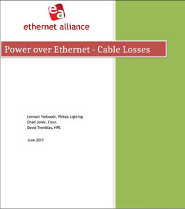 EtherNet Alliance White Paper Cover