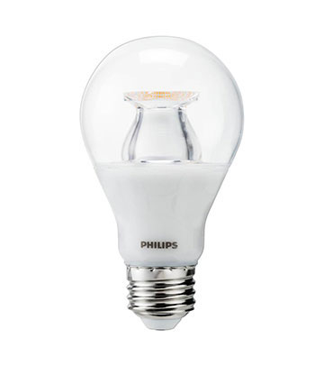 Clear Dimmable LED A19 Bulb
