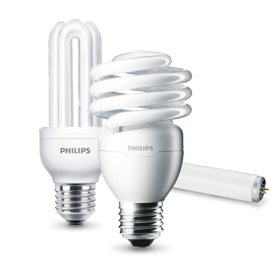 Philips CFL bulbs product collection