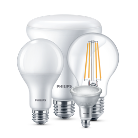 Philips LED bulbs product collection