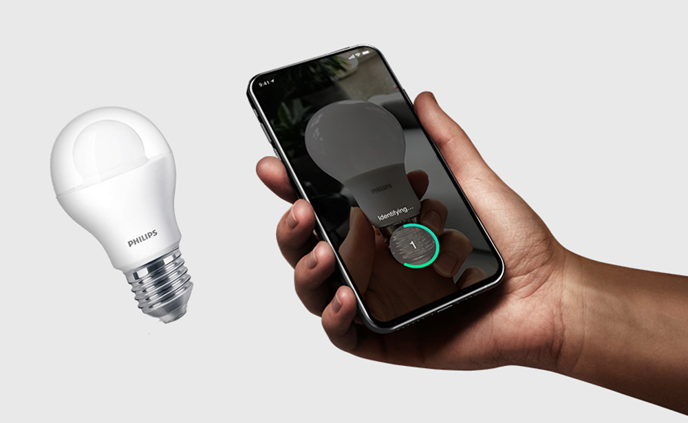 Find the correct light bulb mobile app